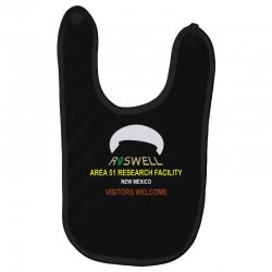 funny alien conspiracy theory roswell area 51 Baby Bibs | Artistshot