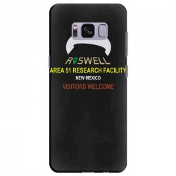 funny alien conspiracy theory roswell area 51 Samsung Galaxy S8 Plus Case | Artistshot