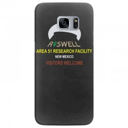 funny alien conspiracy theory roswell area 51 Samsung Galaxy S7 Edge Case | Artistshot