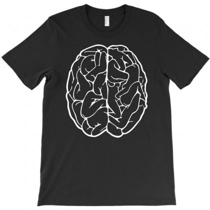 Funny Male Brain Ideal Birthday Gift Or Present T-shirt Designed By Henz Art