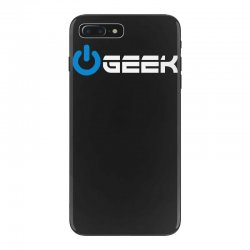 geek' (power on button) iPhone 7 Plus Case | Artistshot