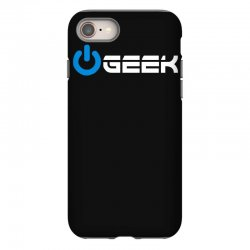 geek' (power on button) iPhone 8 | Artistshot