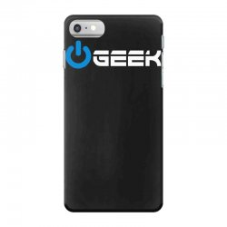 geek' (power on button) iPhone 7 Case | Artistshot