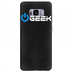 geek' (power on button) Samsung Galaxy S8 Plus | Artistshot