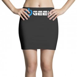 geek' (power on button) Mini Skirts | Artistshot