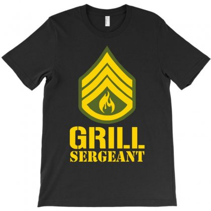 Grill Sergeant Military T-shirt Designed By Henz Art
