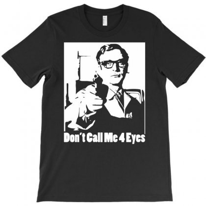 Harry Palmer Don't Call Me Four Eyes T-shirt Designed By Henz Art