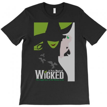 Hot Wicked The Musical Of Oz T-shirt Designed By Henz Art