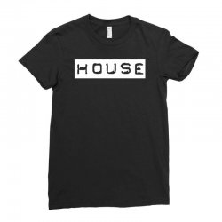 house club,dance,music,vinyl,rave,dj,cool,funny Ladies Fitted T-Shirt | Artistshot