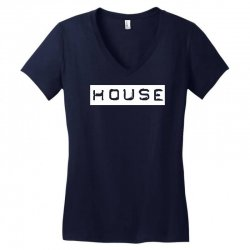 house club,dance,music,vinyl,rave,dj,cool,funny Women's V-Neck T-Shirt | Artistshot