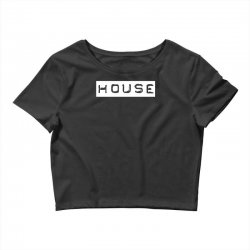 house club,dance,music,vinyl,rave,dj,cool,funny Crop Top | Artistshot
