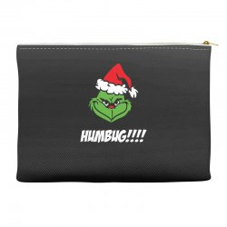 humbug grinch christmas Accessory Pouches | Artistshot