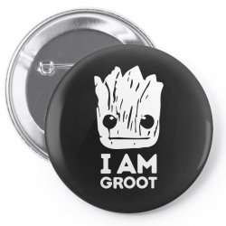 i am groot Pin-back button | Artistshot