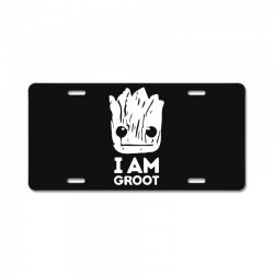i am groot License Plate | Artistshot