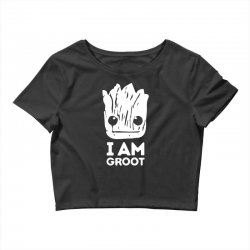 i am groot Crop Top | Artistshot