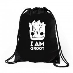 i am groot Drawstring Bags | Artistshot