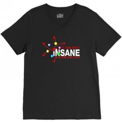 i am not insane inspired by the big bang theory, ideal birthday V-Neck Tee | Artistshot
