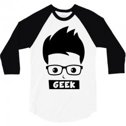 geek 3/4 Sleeve Shirt | Artistshot
