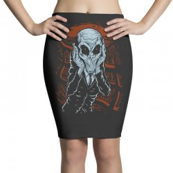 a scream of silence Pencil Skirts | Artistshot