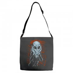 a scream of silence Adjustable Strap Totes | Artistshot