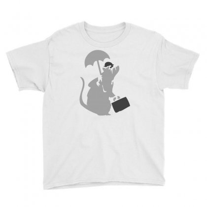 Banksy   Executive Rat Youth Tee Designed By Mdk Art