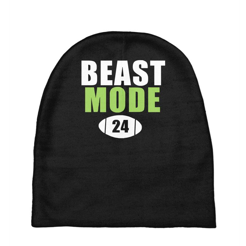 cheap for discount 125df 4f570 Beast Mode Marshawn Lynch Seattle Seahawks Baby Beanies. By Artistshot