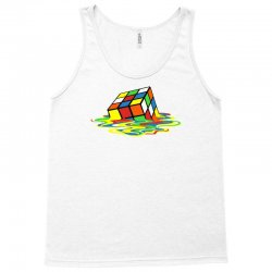 big bang theory melting rubiks cube Tank Top | Artistshot