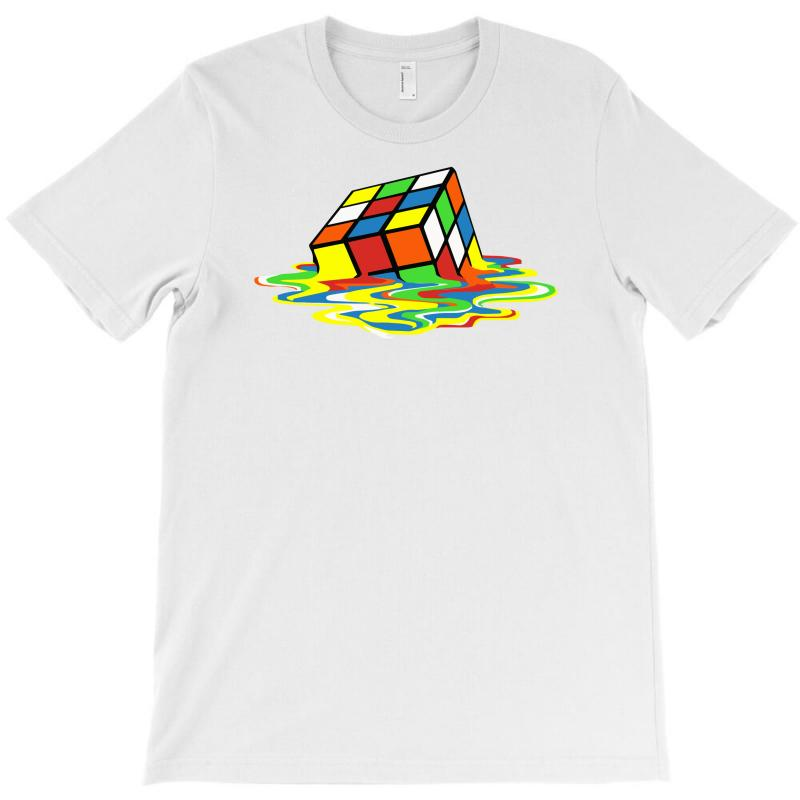 Big Bang Theory Melting Rubiks Cube T-shirt | Artistshot