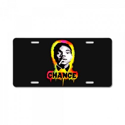 Chance The Rapper License Plate