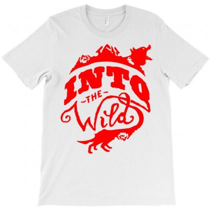 Into The Wild T-shirt Designed By Mdk Art