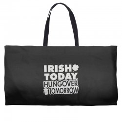 irish today hungover Weekender Totes | Artistshot