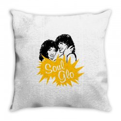soul glo 2 Throw Pillow | Artistshot