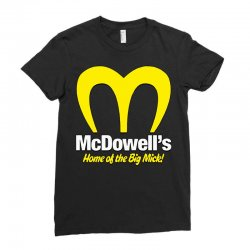 mcdowells Ladies Fitted T-Shirt | Artistshot