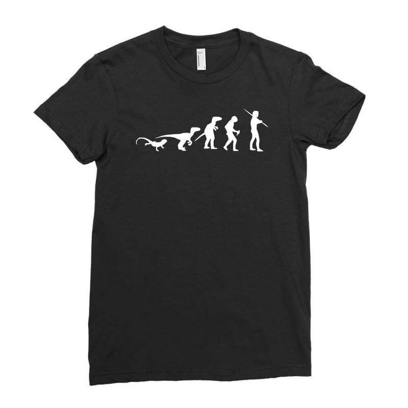 Icke Evolution Ladies Fitted T-shirt | Artistshot