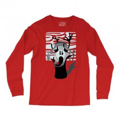 the tree's scream Long Sleeve Shirts | Artistshot