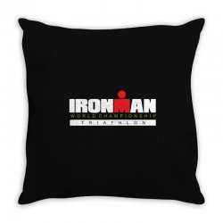 ironman triathlon world championships Throw Pillow | Artistshot