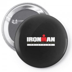 ironman triathlon world championships Pin-back button | Artistshot