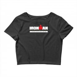 ironman triathlon world championships Crop Top | Artistshot