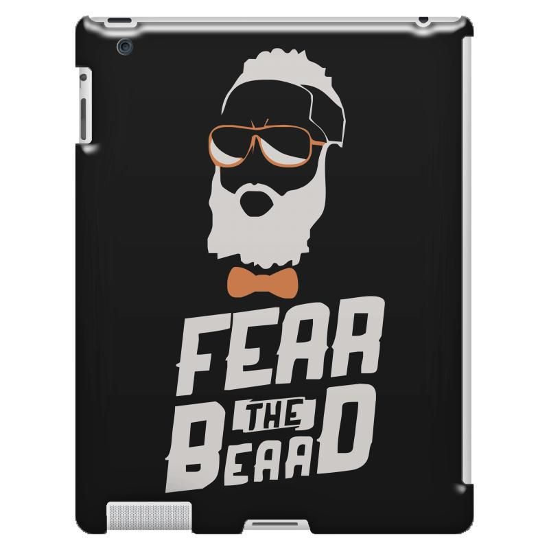 5b787099efa3 Custom James Harden Fear The Beard Ipad 3 And 4 Case By Hezz Art -  Artistshot