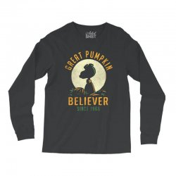 Great Pumpkin Believer Long Sleeve Shirts | Artistshot