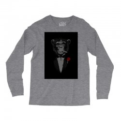 Monkey Busniseman Long Sleeve Shirts | Artistshot