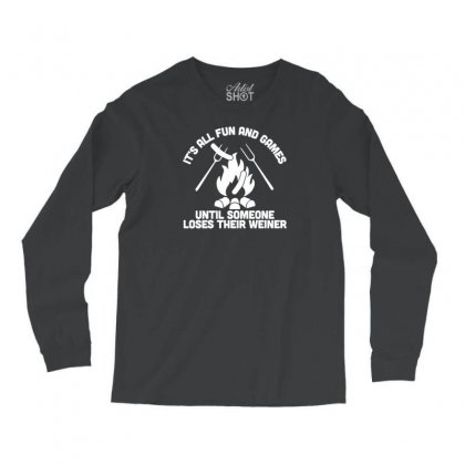 Loses A Weiner Long Sleeve Shirts Designed By Tonyhaddearts