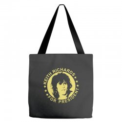 keith richards for president Tote Bags | Artistshot