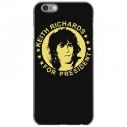 keith richards for president iPhone 6/6s Case | Artistshot