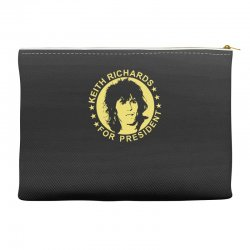 keith richards for president Accessory Pouches | Artistshot