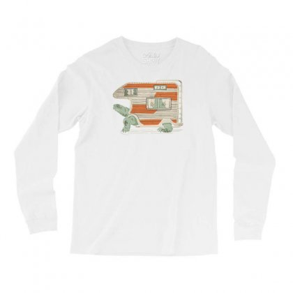 Turtle Camper Long Sleeve Shirts Designed By Tonyhaddearts