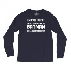 funny batman Long Sleeve Shirts | Artistshot