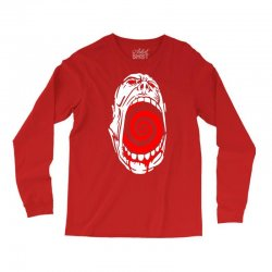 screaming face Long Sleeve Shirts | Artistshot