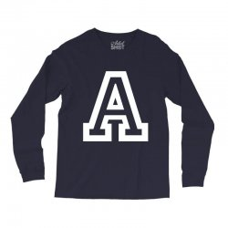 A Initial Name Long Sleeve Shirts | Artistshot