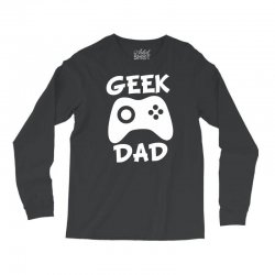 geek dad Long Sleeve Shirts | Artistshot
